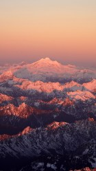 mountain iphone cool nature wallpapers sunset snow plus shadow daily