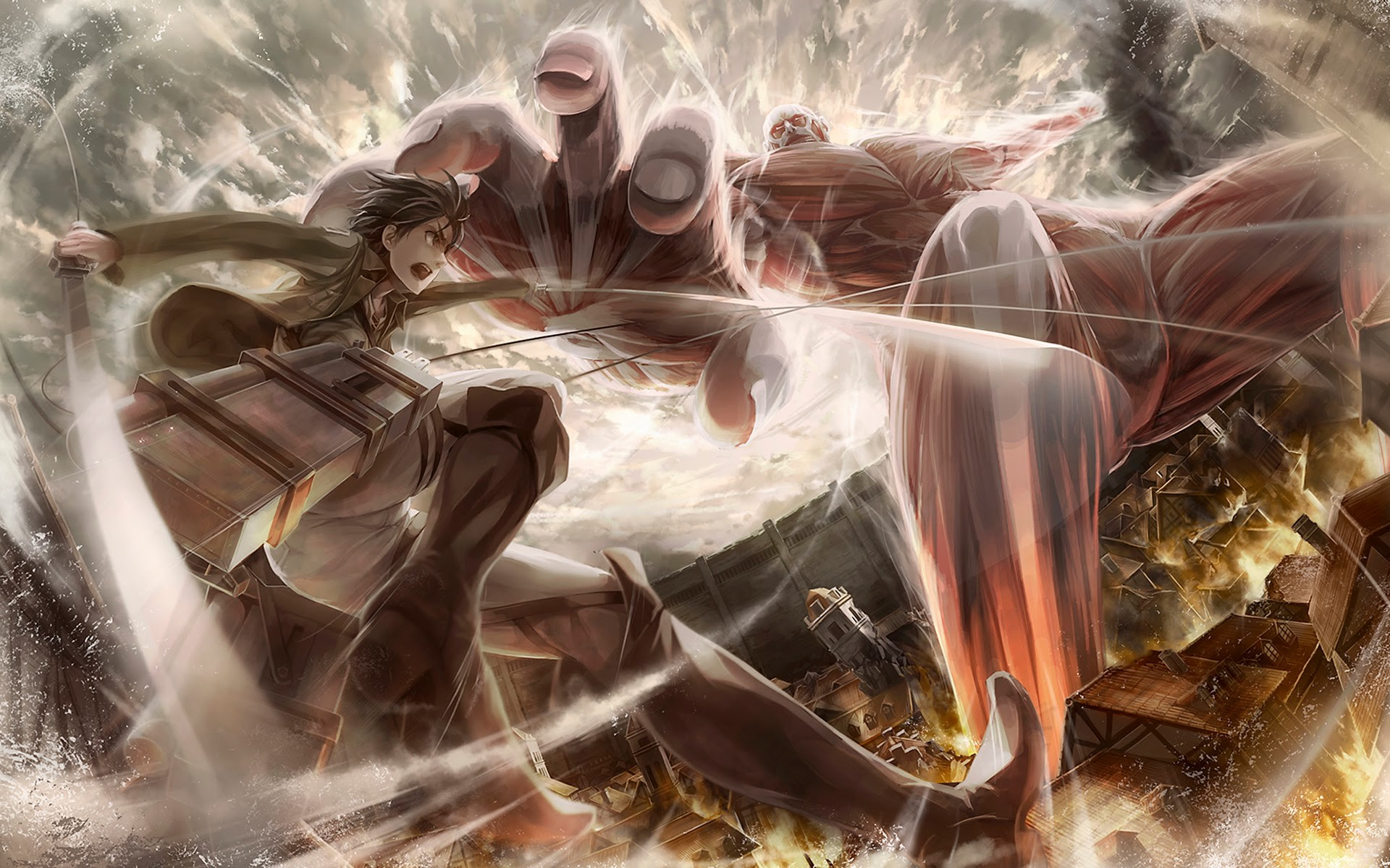 Check out these 13 fun facts. Attack on Titan Live Wallpaper (76+ images)