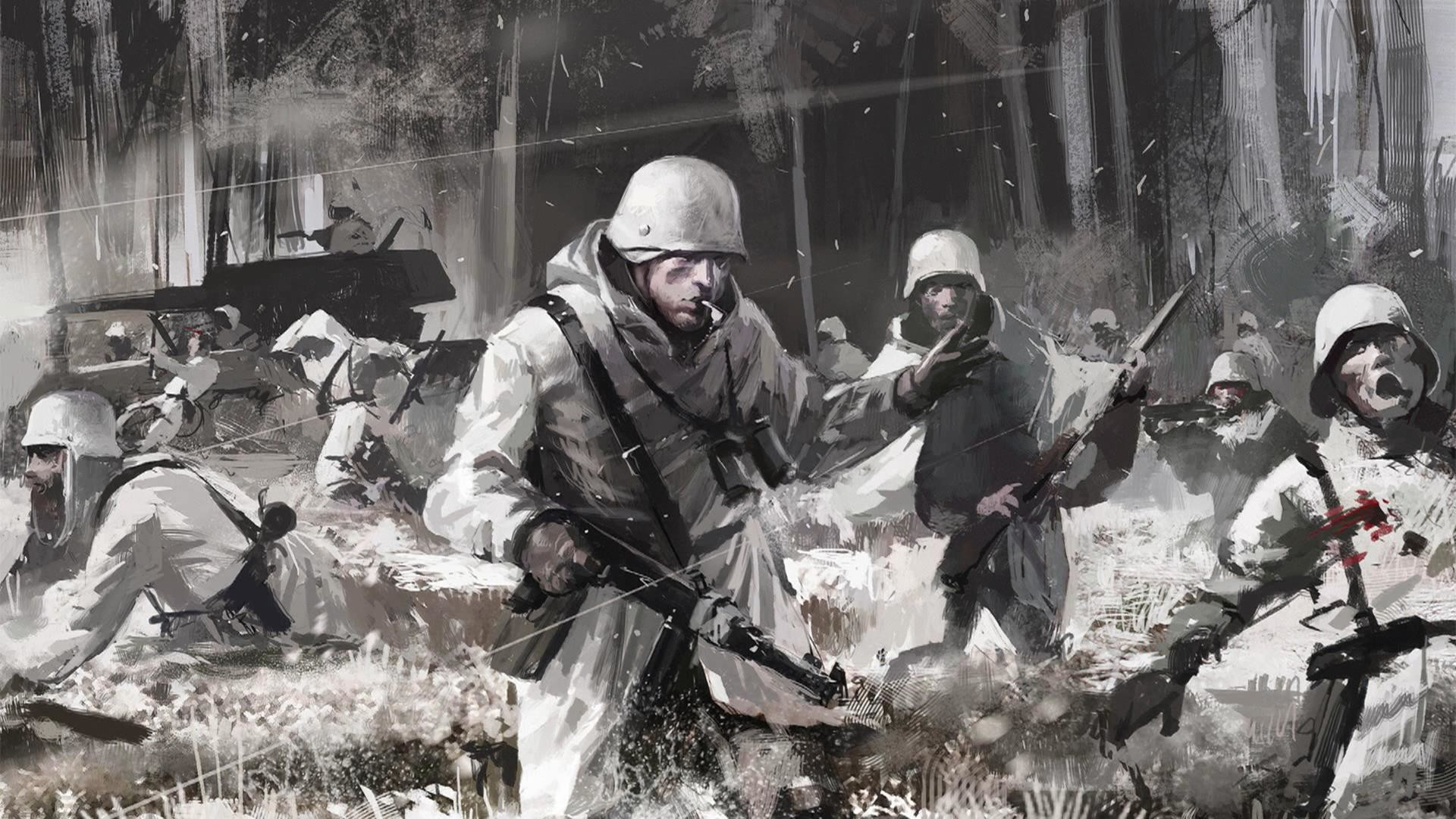 Painting Zombies Ww2