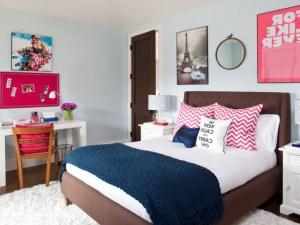 bedroom teen simple decorating teenage wallpapers rooms designs walls curtains pink decorewarding 2400