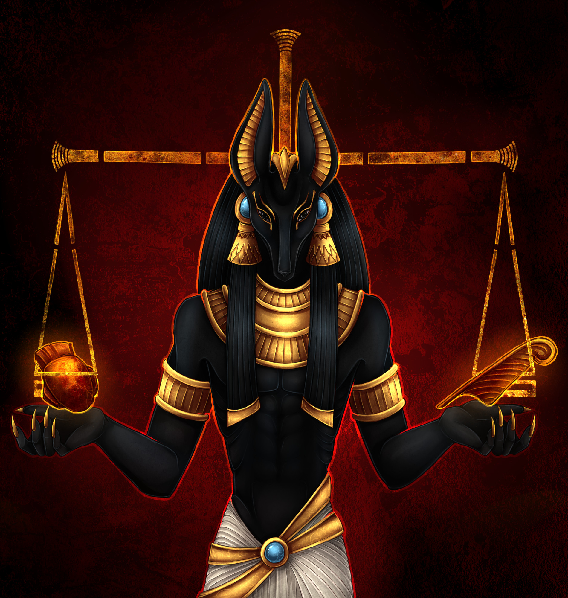 Anubis Egyptian God Wallpaper 61 Images