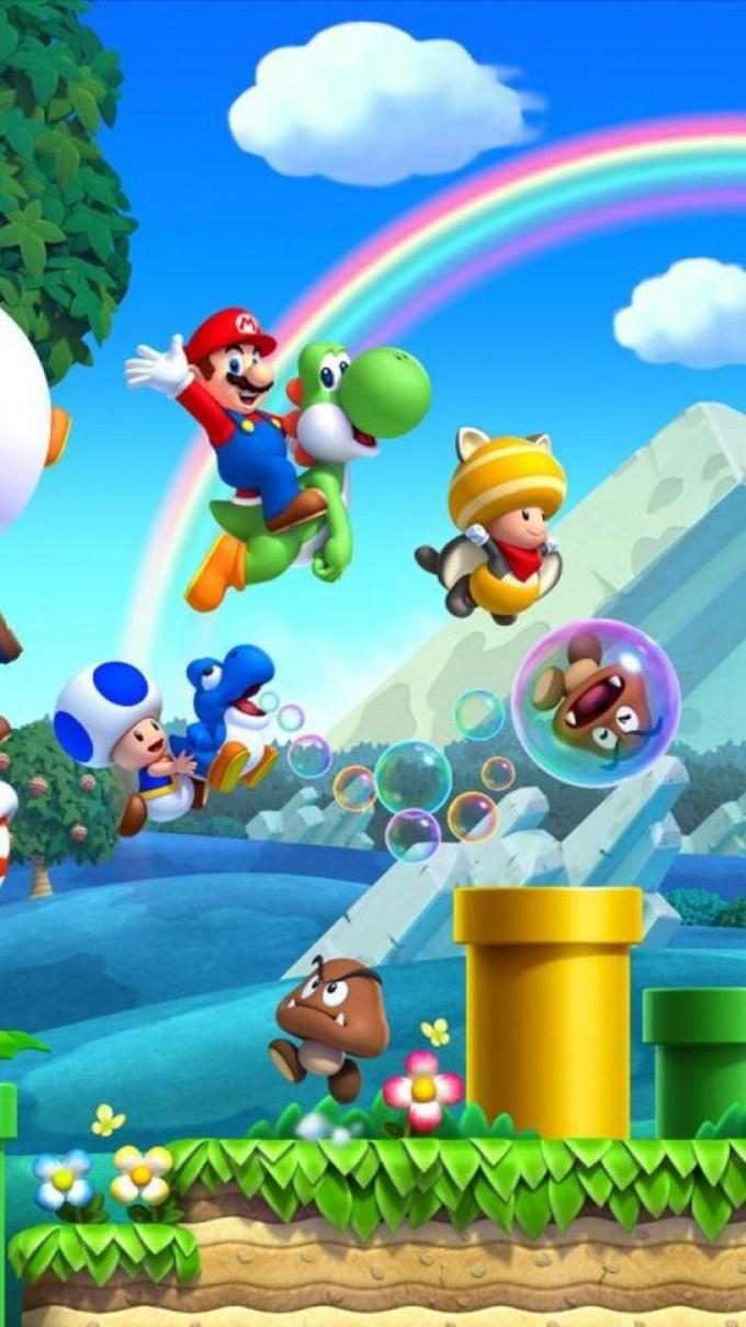 Super Mario Live Wallpaper Iphone Viewsitenew Co