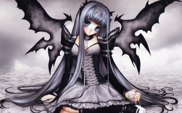 Anime Dark Gothic Fairies
