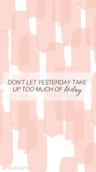pink quotes cute inspirational desktop wallpapers backgrounds background quote iphone computer stripe screen lock motivational positive hd mobile yesterday dont