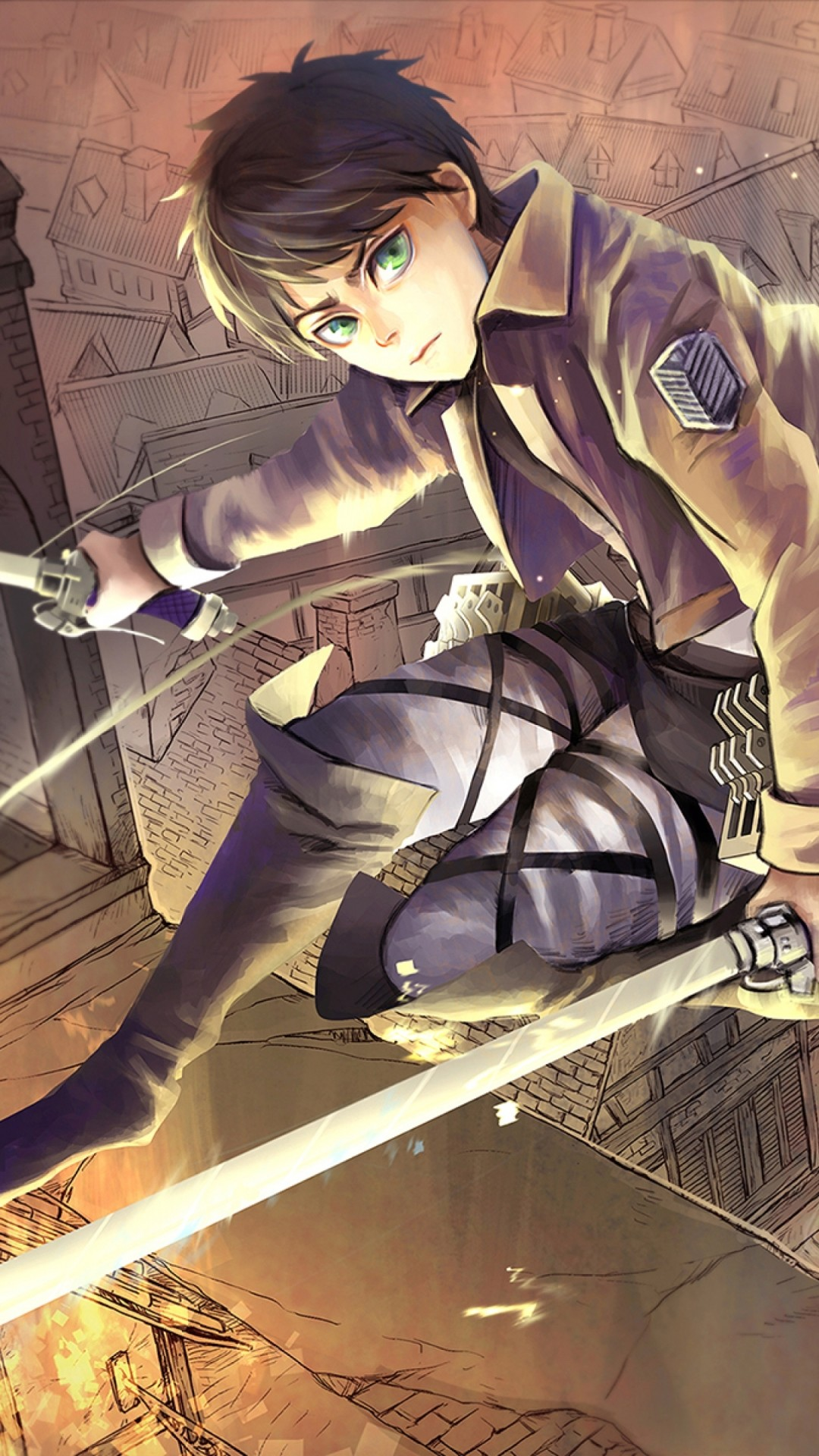 This article explains how to set live wallpapers on an iphone. Attack On Titan Iphone Wallpaper Eren