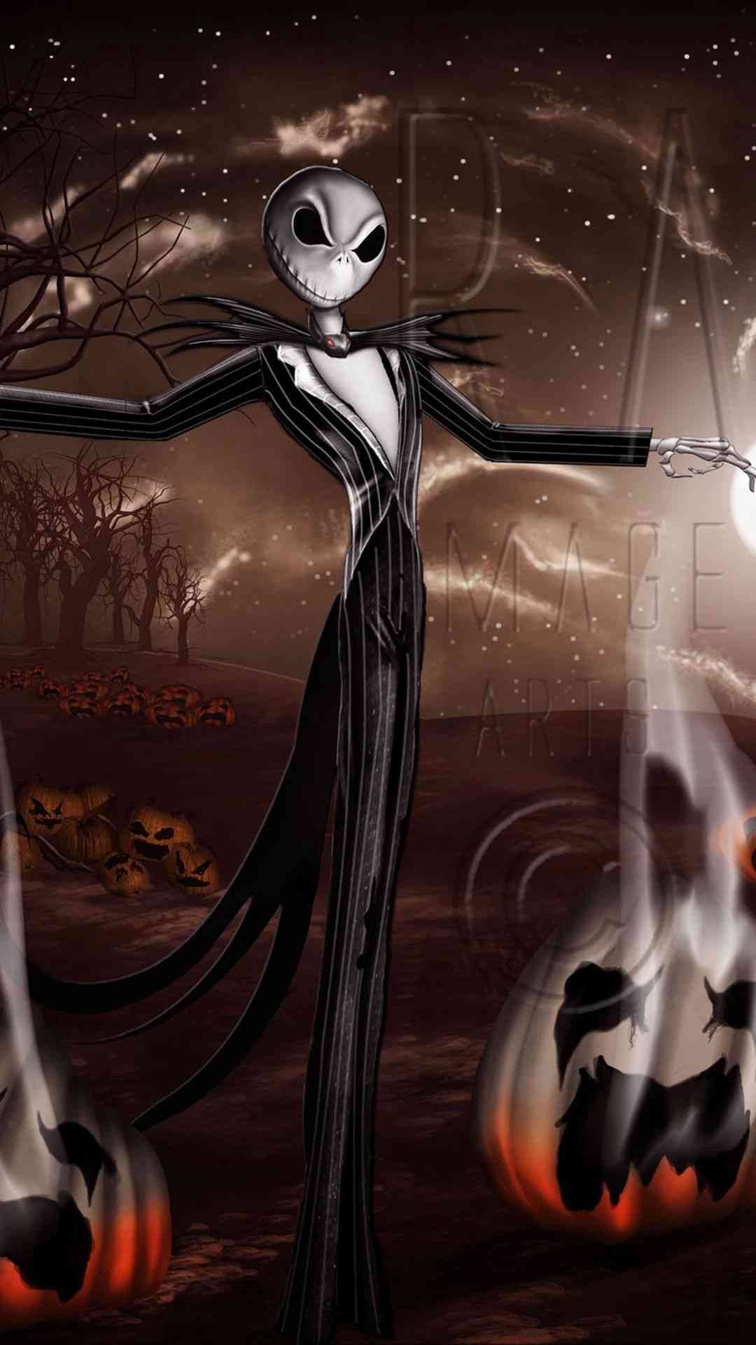 Jack Skellington Iphone Wallpaper The Night Before Christmas Wallpaper 69 Images