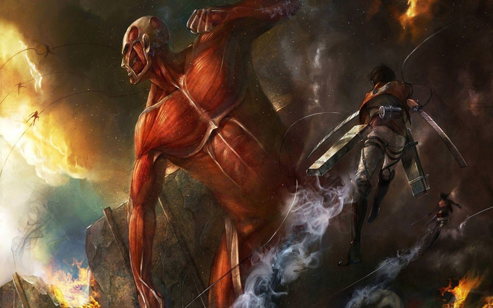 1909 attack on titan hd wallpapers background images. Download Attack On Titan High Resolution Desktop ...