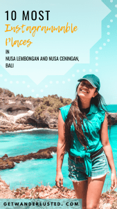 10 Most Instagrammable Places in Nusa Lembongan and Nusa Ceningan, Bali