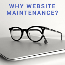 ecommerce website maintainence errors