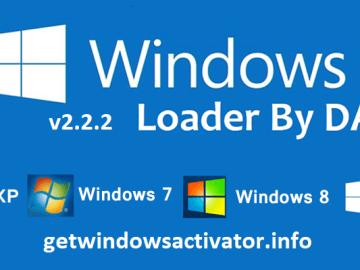 Download Windows Loader v2.2.2 by Daz Free 2019
