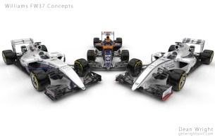 Williams FW37 concepts