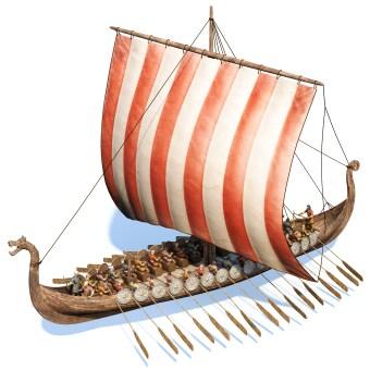 Historical 3D Illustration