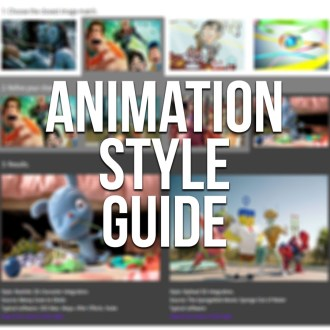Animation style guide chooser