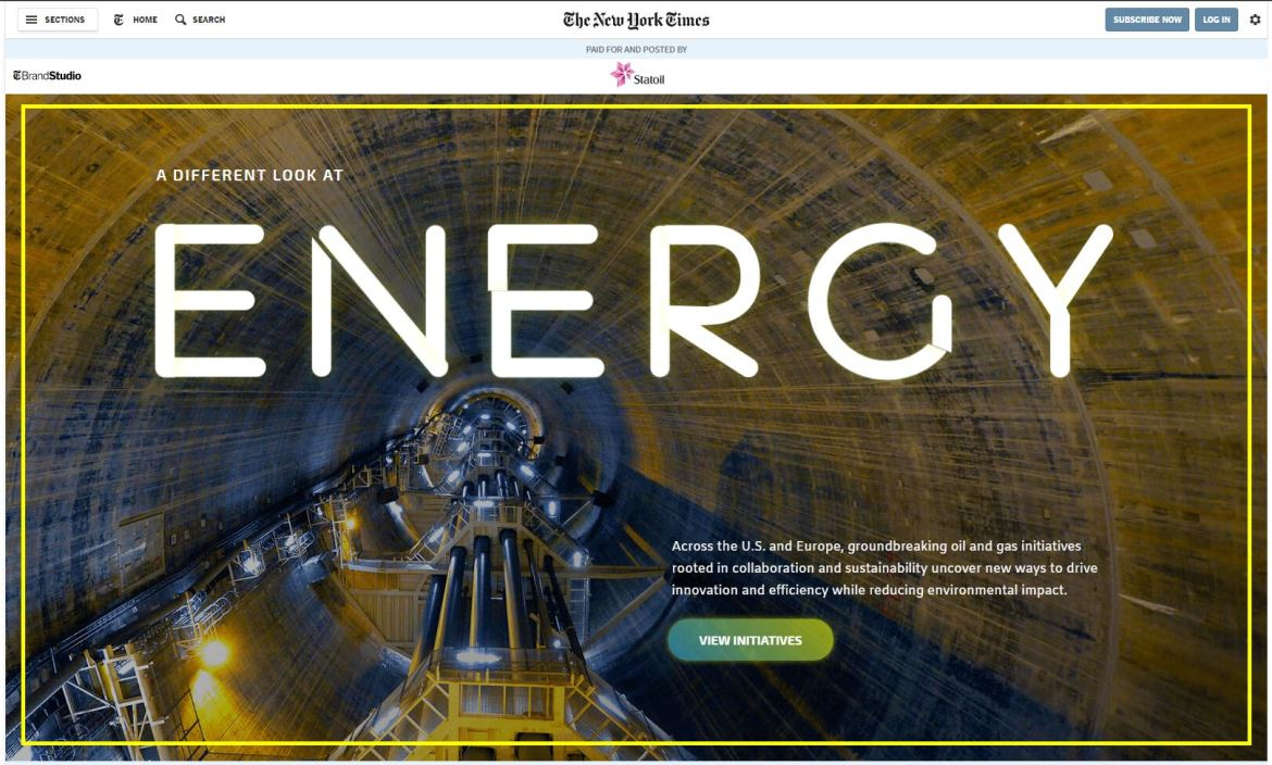 3D animated VFX for cleaner oil and gas