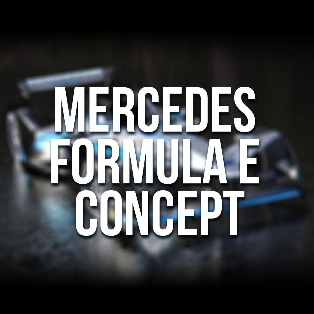 Mercedes Formula E Concept Art