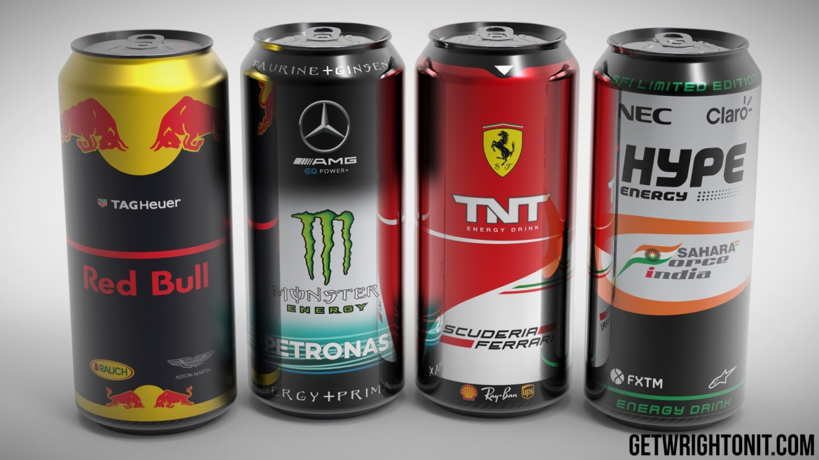 F1 Drink Brand Concepts