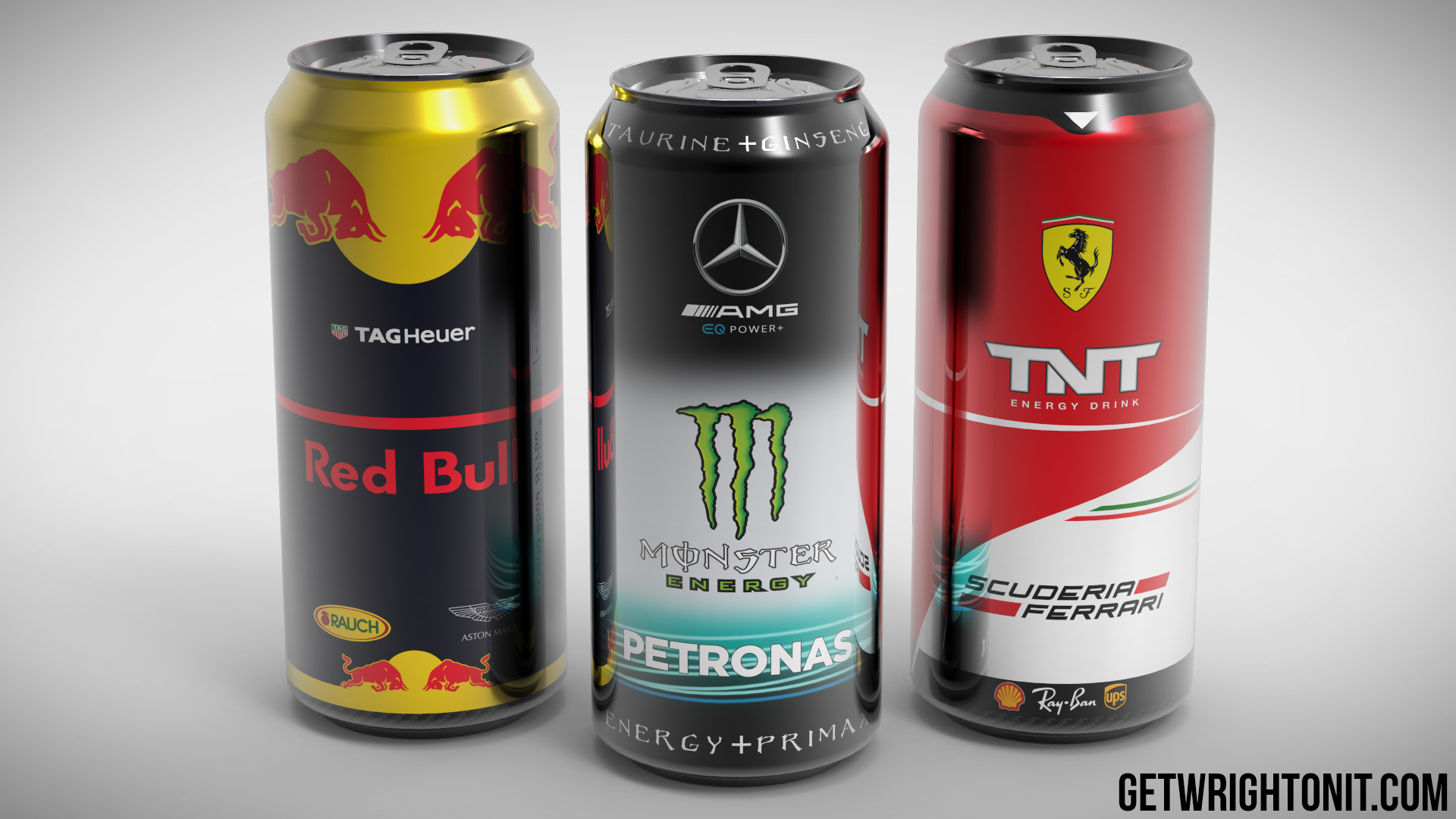 Formula 1 Drink Brand Exercise