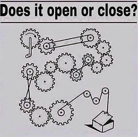 Problem 38 – Does it open or close?