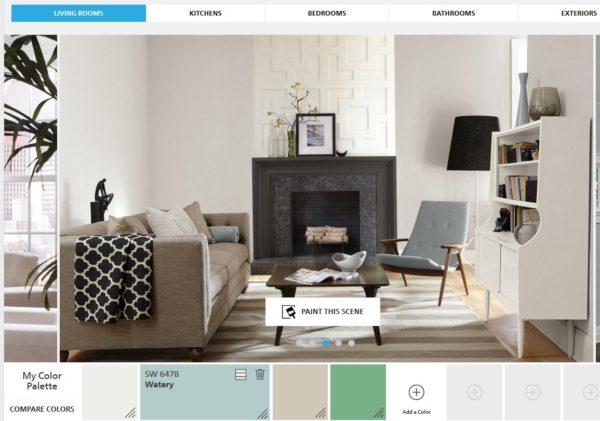 Sherwin Williams Color Home Design