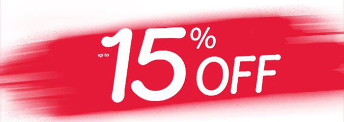 SALE 15% OFF ONLINE ONLY BOX15