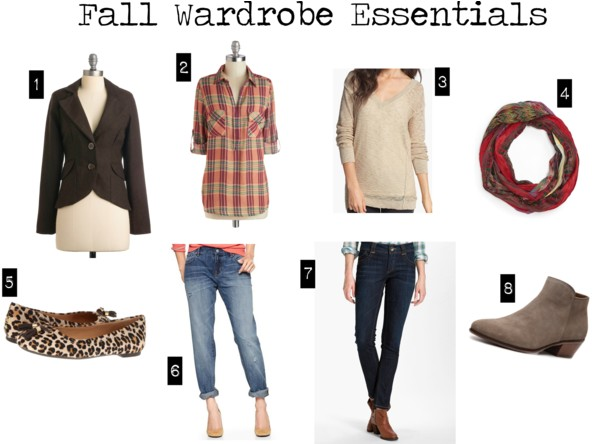 Seven Days of Fall Outfits