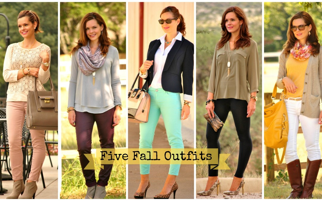 I Feel Pretty | Five Favorite Fall Looks