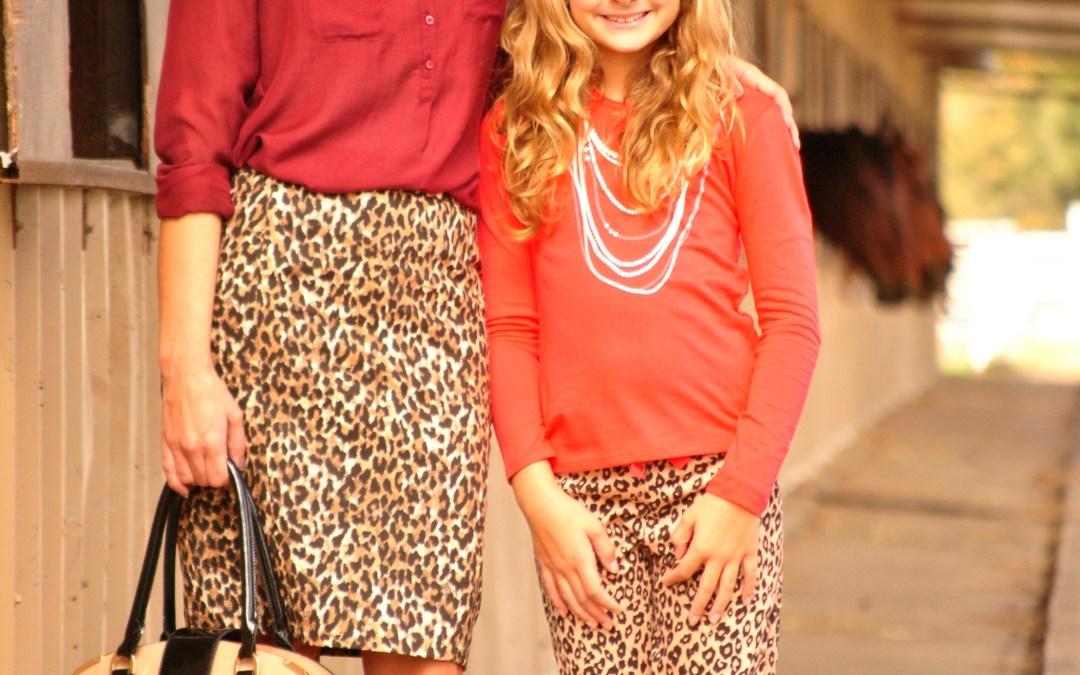 Mom & Me | Fab in Leopard
