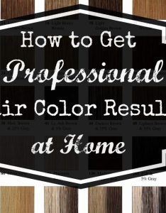 Professional at home hair color also get your pretty on rh getyourprettyon
