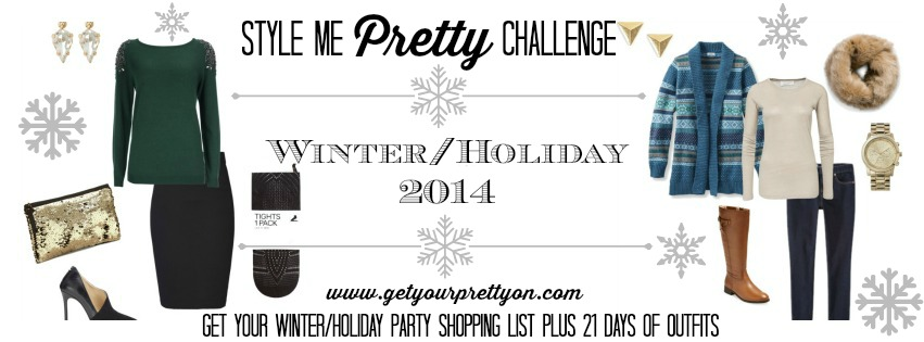 Winter/Holiday Style Challenge Banner