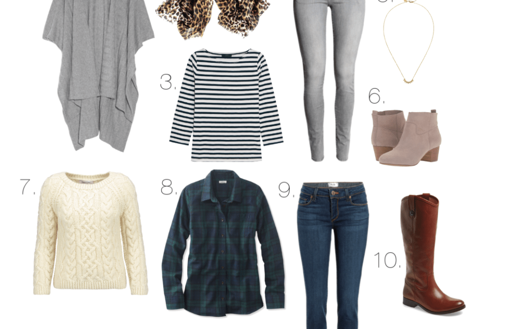 10 Must Haves to Fight the Mom Frump + 7 Outfits