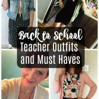 Real Teachers Back to School Outfits and Must Haves + Giveaway!