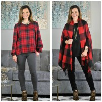 I Feel Pretty Festive:  Leopard and Plaid Holiday Looks