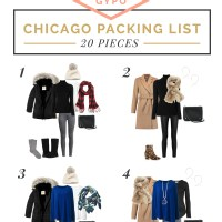 Chicago Packing List and Outfits - Winter Weekend