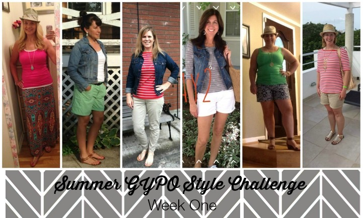 Week One | Summer GYPO Style Challenge