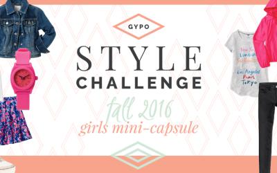 Fall 2016 Girls Back to School Capsule Wardrobe