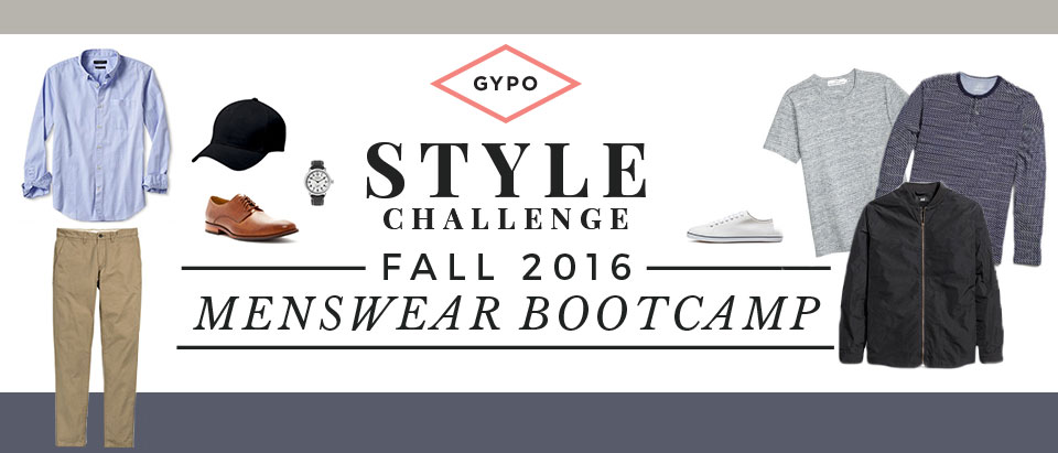 Update His Style:  Fall 2016 Menswear Bootcamp