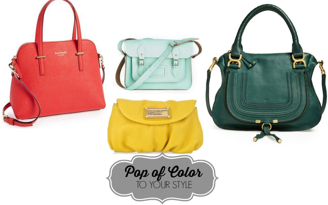 Pop of Color to Your Style