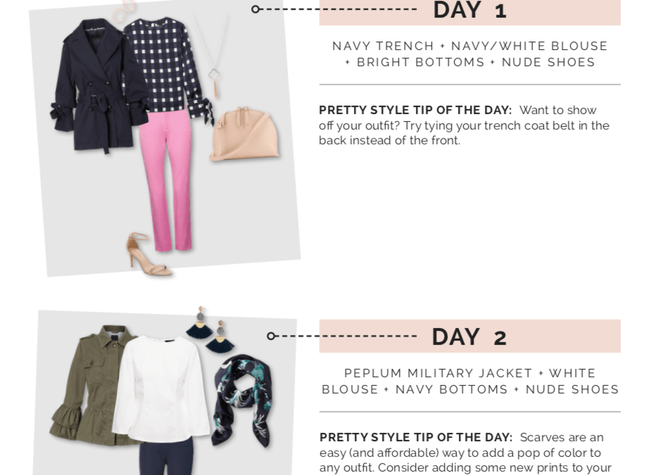 Two Spring Work Wear Outfit Ideas!