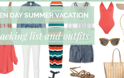 Five Spring Break Packing Lists