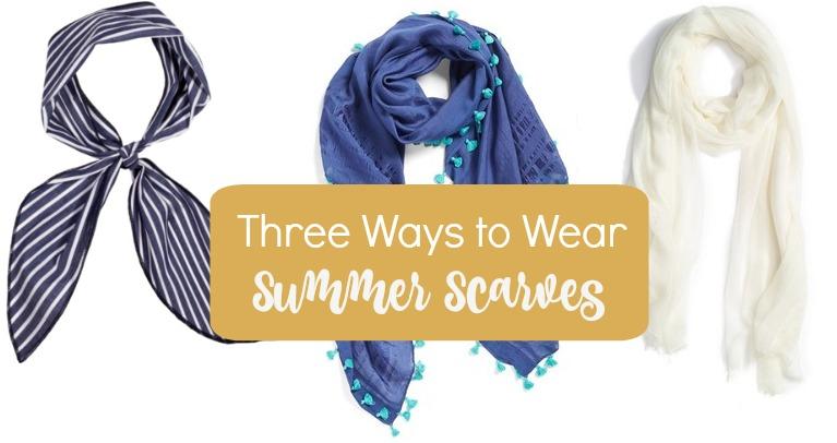 Three Ways to Wear Summer Scarves