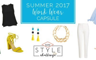 Summer Work Wear Capsule Wardrobe