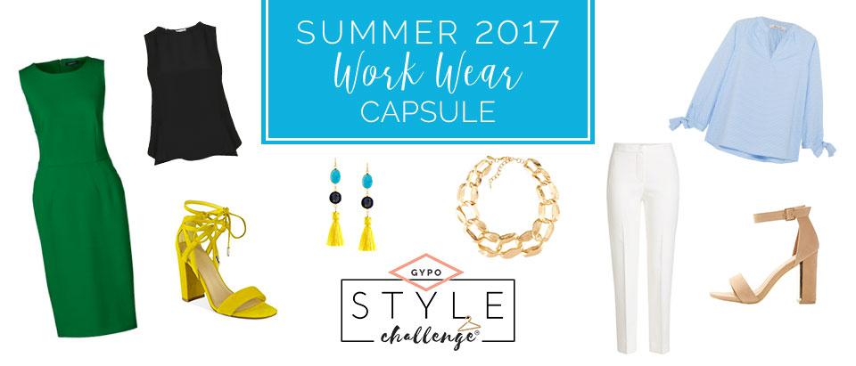 Summer Work Wear Capsule Wardrobe