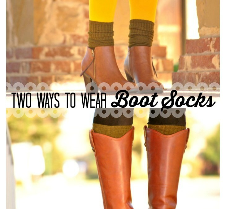 Boot Socks Times Two