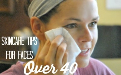 Anti-aging Skincare Tips for Faces Over 40
