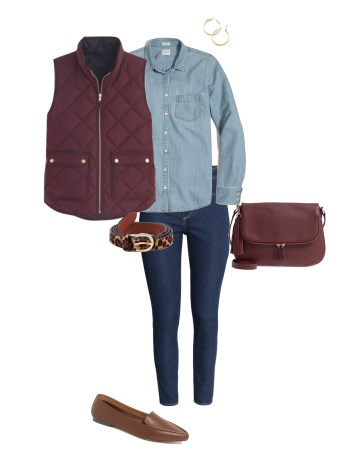 Learning how to wear denim with denim is a must. This outfit combo is both classy & comfy. Use these tips to create an outfit you will want to wear
