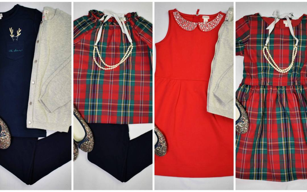 Four Adorable Holiday Outfits for Girls