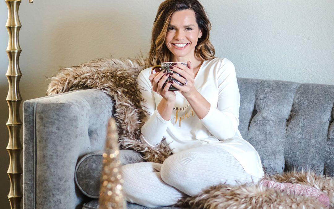 Cozy Christmas Pajamas + A New Favorite Bra