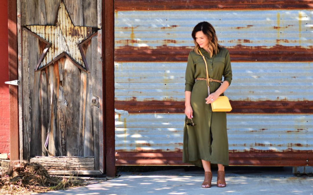 Current Mood: Olive and Yellow