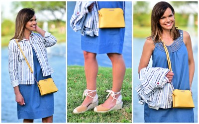 You're Going to Want This Easy Denim Dress!
