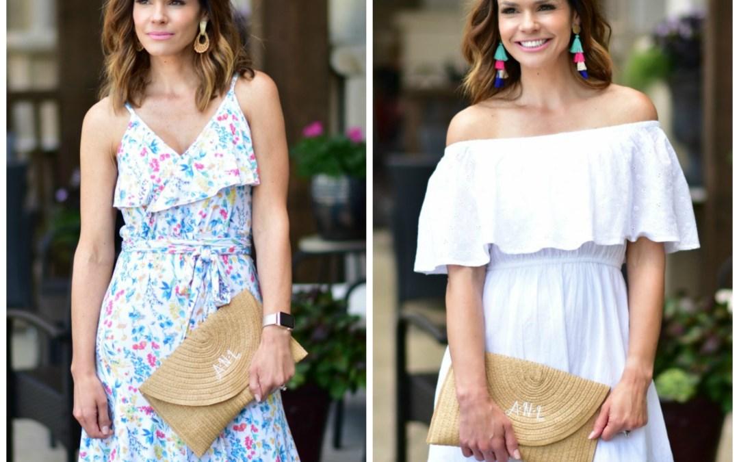 Two Spring Graduation Dresses
